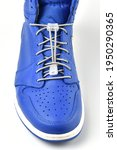 Sneaker With White Shoe Laces...