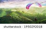 Paragliding Multicolor....