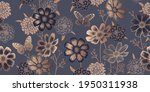 seamless spring floral pattern. ... | Shutterstock .eps vector #1950311938