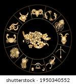 gemini of astrology design... | Shutterstock .eps vector #1950340552