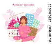 different types of female... | Shutterstock .eps vector #1950360322