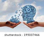 training and development... | Shutterstock . vector #195037466