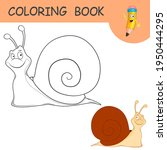 coloring book with fun...   Shutterstock .eps vector #1950444295