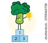 vector illustration broccoli...   Shutterstock .eps vector #1950464758