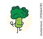 vector illustration broccoli...   Shutterstock .eps vector #1950464785