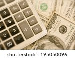 Calculator with dollar