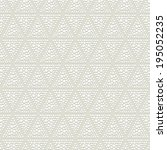faded gray dotted seamless... | Shutterstock .eps vector #195052235