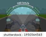 speed and field of vision.... | Shutterstock .eps vector #1950564565