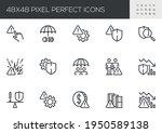 set of vector line icons...   Shutterstock .eps vector #1950589138