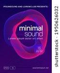 music poster. trendy...   Shutterstock .eps vector #1950626032