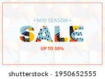 colorful banner with abstract... | Shutterstock .eps vector #1950652555