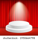 display stand podium and stage... | Shutterstock .eps vector #1950664798