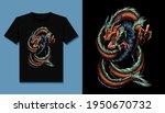 King Dragon T Shirt Design