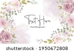 beautiful soft floral...   Shutterstock .eps vector #1950672808
