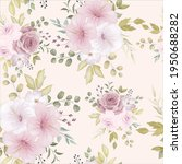 beautiful floral seamless... | Shutterstock .eps vector #1950688282