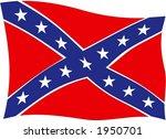 usa rebel flag ii | Shutterstock .eps vector #1950701