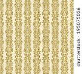 pattern stripes border seamless ... | Shutterstock . vector #195075026