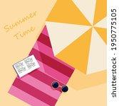 summer vacation concept. retro... | Shutterstock .eps vector #1950775105