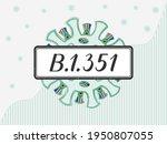 covid 19 coronavirus with the...   Shutterstock .eps vector #1950807055