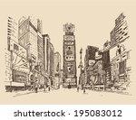 Street In New York City...