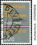 netherlands   circa 1968  a... | Shutterstock . vector #195090848