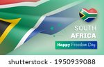 south africa happy freedom day... | Shutterstock .eps vector #1950939088