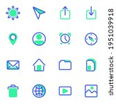 ui kit vector icons set  user...