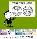 regions. business illustration  ... | Shutterstock .eps vector #195107132