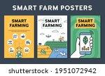 vector smart farm poster... | Shutterstock .eps vector #1951072942