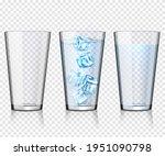 set of transparent glasses... | Shutterstock .eps vector #1951090798