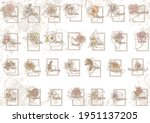 fifty states of america with... | Shutterstock .eps vector #1951137205