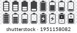 signal and battery icons.... | Shutterstock .eps vector #1951158082