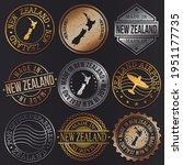 new zealand business metal... | Shutterstock .eps vector #1951177735