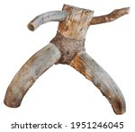 Wooden Sculpture In The Shape...