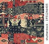 bandana paisley and native... | Shutterstock .eps vector #1951246405