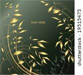 floral design. vector... | Shutterstock .eps vector #19515475