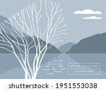 card template design  stylized... | Shutterstock .eps vector #1951553038