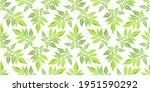 vector floral seamless pattern. ...   Shutterstock .eps vector #1951590292