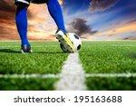 Soccer Football Kick Off