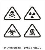 a collections of danger sign ... | Shutterstock .eps vector #1951678672