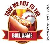 baseball design element. eps 10 ...   Shutterstock .eps vector #195168266