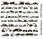 50 Black Icons Tractors And...