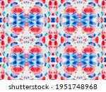 red blue abstract mark. art... | Shutterstock . vector #1951748968