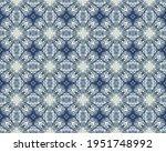blue floral ink texture. blue... | Shutterstock . vector #1951748992