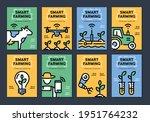 vector smart farm poster... | Shutterstock .eps vector #1951764232