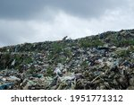 View Of Plastic Waste Piling Up ...