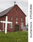 Iceland. Holar Church  1763....