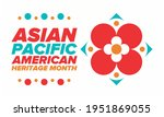 asian pacific american heritage ... | Shutterstock .eps vector #1951869055