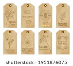 set of vintage tags with hand... | Shutterstock .eps vector #1951876075