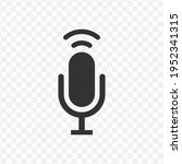 transparent signal microphone...